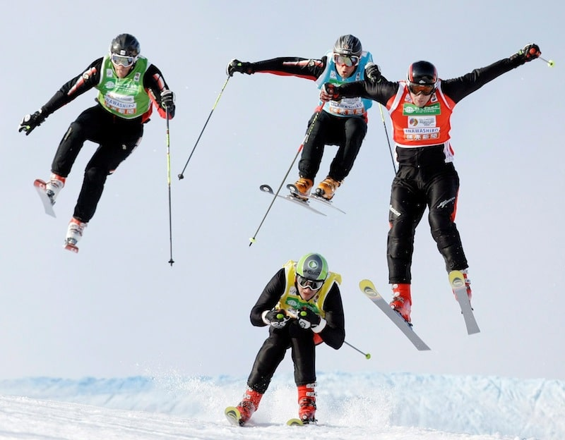 APTOPIX Japan Freestyle Skiing World Championships
