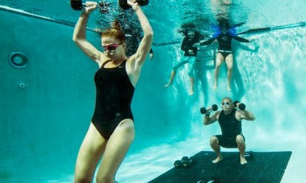 Et si on transformait les piscines en salle de fitness ?